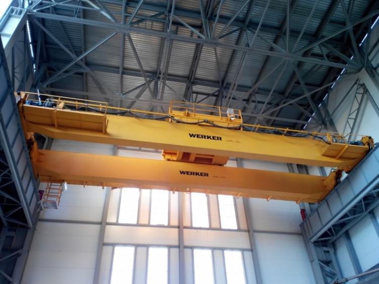 Всеволожский Крановый Завод изготовил и смонтировал двухбалочный мостовой кран грузоподъемностью 125 тонн