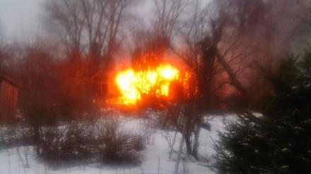 Смертельный пожар в Юкках
