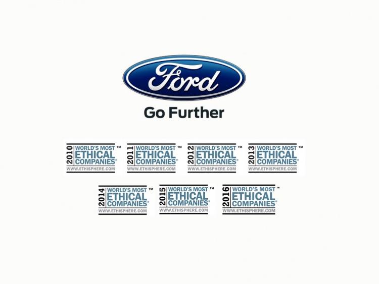 Ford признан самым этичным автопроизводителем мира