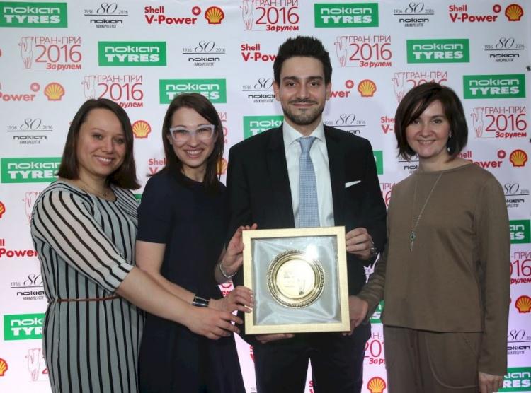 Ford Sollers удостоена престижной награды «За вклад в Россию»