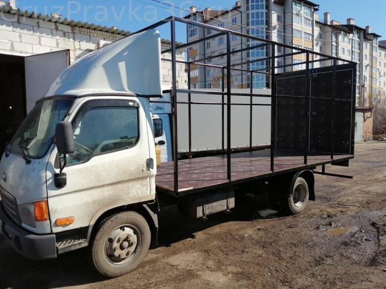 Правка рам грузовых автомобилей в Воронеже